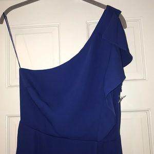 19 Cooper szS NWOT Royal Blue off- shoulder dress